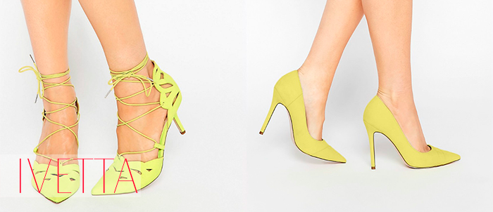 Лимонные лодочки на женских ножках