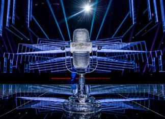 Микрофон песенного конкурса Евровидение