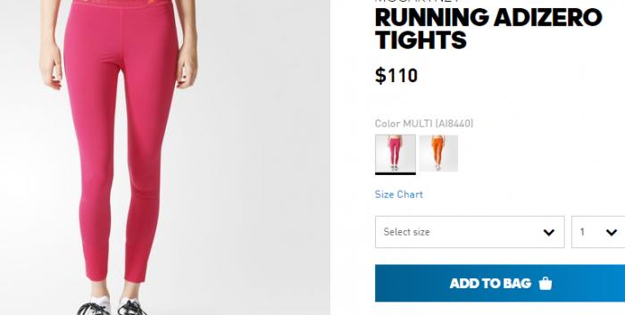 Розовые леггинсы на женских ногах