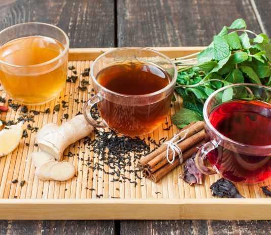 Топ-3 эффективных чаев для похудения