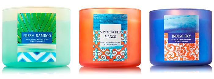 3 декоративные свечи Wick Candle