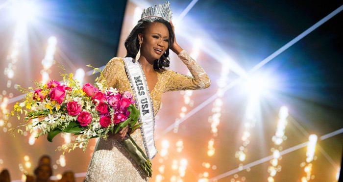 Деша Барбер победительница Мисс США 2016