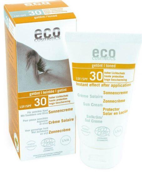 Органический крем для лица и тела Eco cosmetics с SPF 30