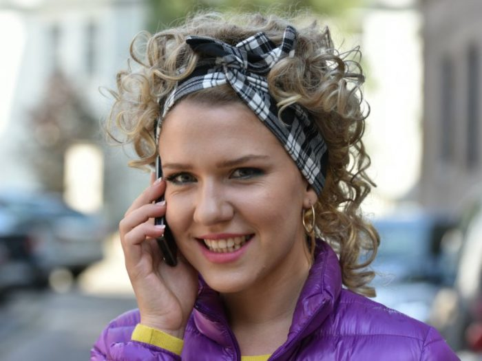 Полина- актриса сериала «Наші пані у Варшаві»