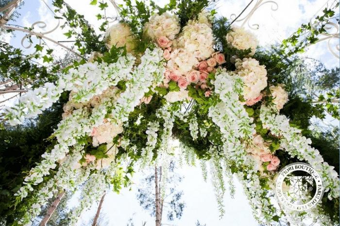 Цветы под под толком