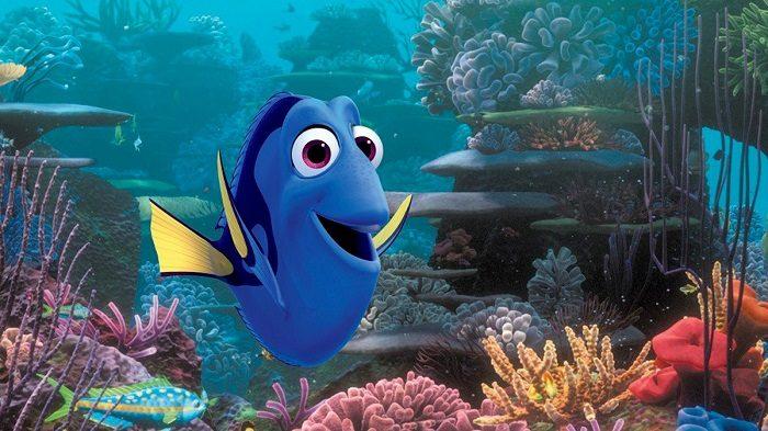 Рыбка из диснеевского мультфильма «В поисках Дори»