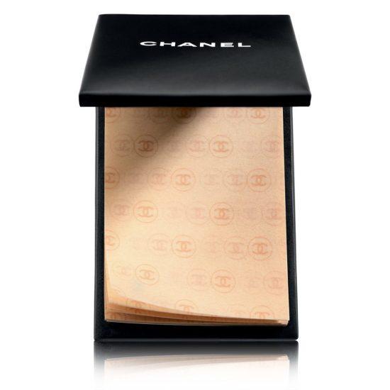 Матирующие салфетки для лица от Chanel