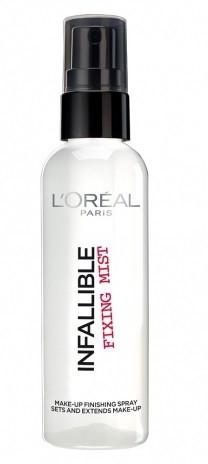 Спрей для фиксации макияжа loreal Infllible