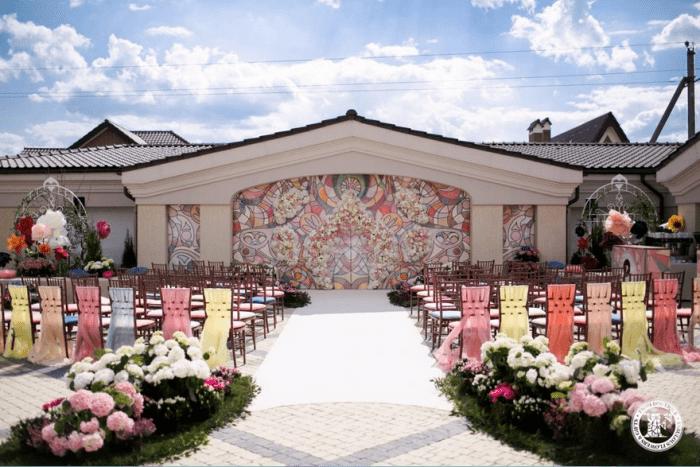 Территория для венчания