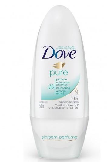 Шариковый дезодорант-антиперспирант Dove Pure