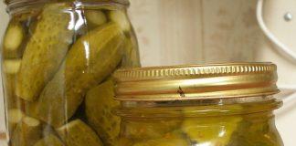 Рецепт соленья огурцов