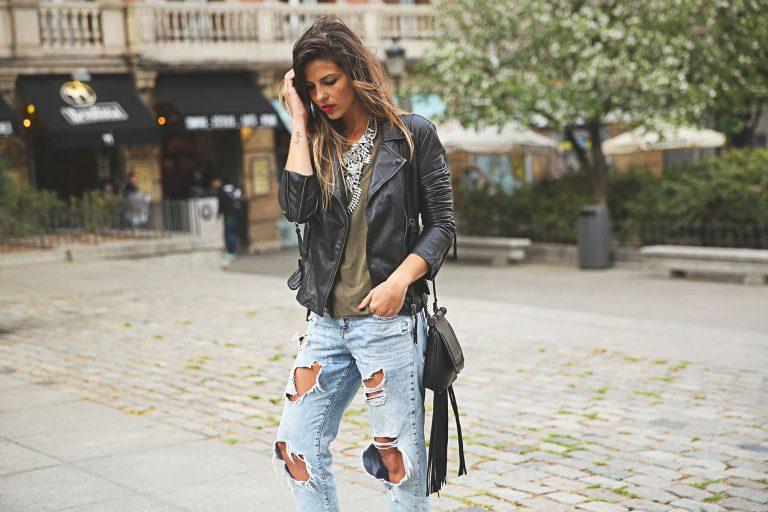 Street Style: с чем носить джинсы-бойфренды