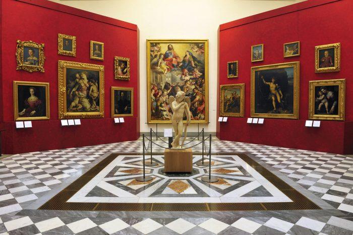 галерея Уффици Флоренция