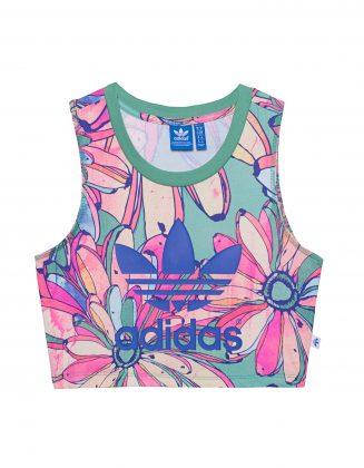 Цветной топ adidas