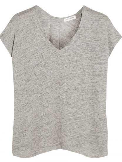 Серая футболка oversize