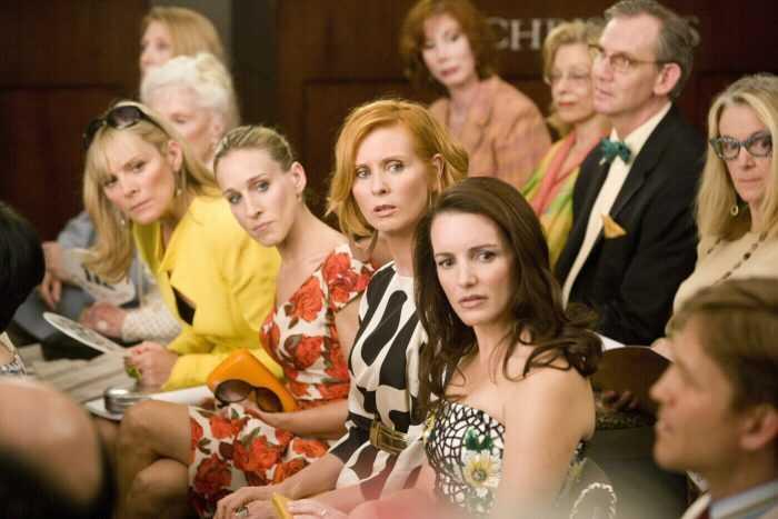 Кэрри, Миранда, Шарлотта, и Саманта в сериале «Секс в большом городе»