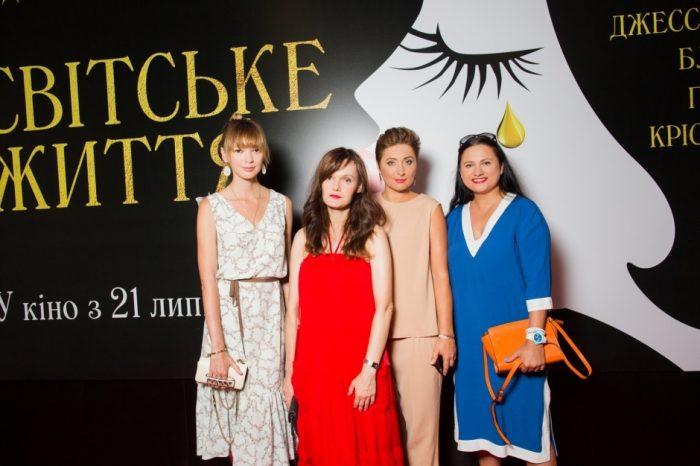 Виктория Тигипко с гостями на закрытии Одесского кинофестиваля