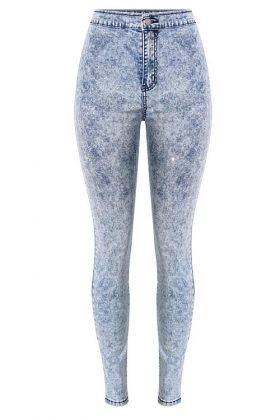 женские джинсы цвета варенки