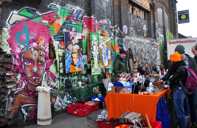Блошиный рынок в Берлине 2
