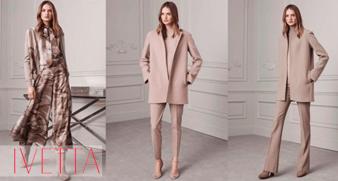 Девушки в одежде розового и телесного цвета