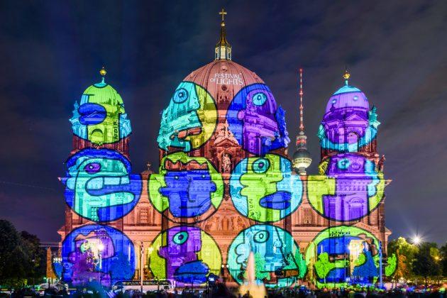 Фестиваль света в Берлине 2