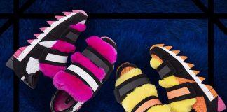 Кроссовки Dolce&Gabbana с мехом