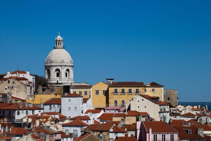 Район старого центра – Альфама, Лиссабон