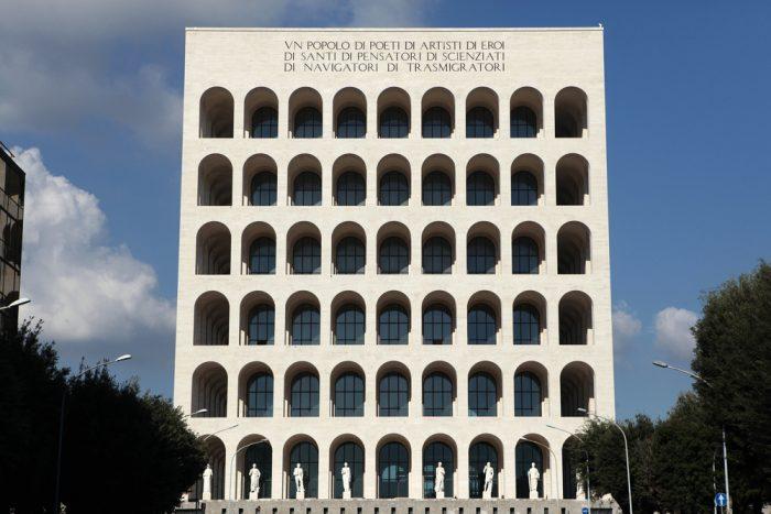 Квадратный Колизей, Рим