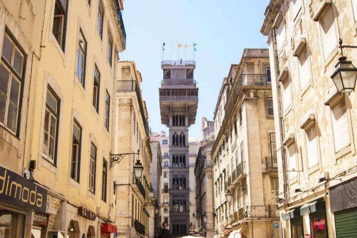 Лифт Санта Жушта, Лиссабон
