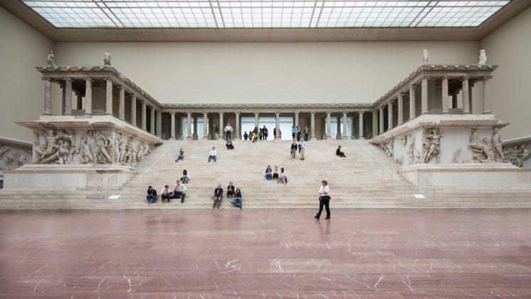 Музей Пергамон внутри, Берлин