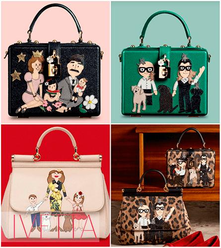 Сумки Dolce&Gabbana семья