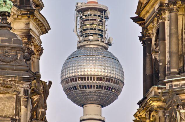Телебашня в Берлине 2