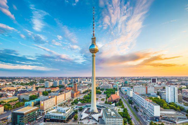 Телебашня в Берлине