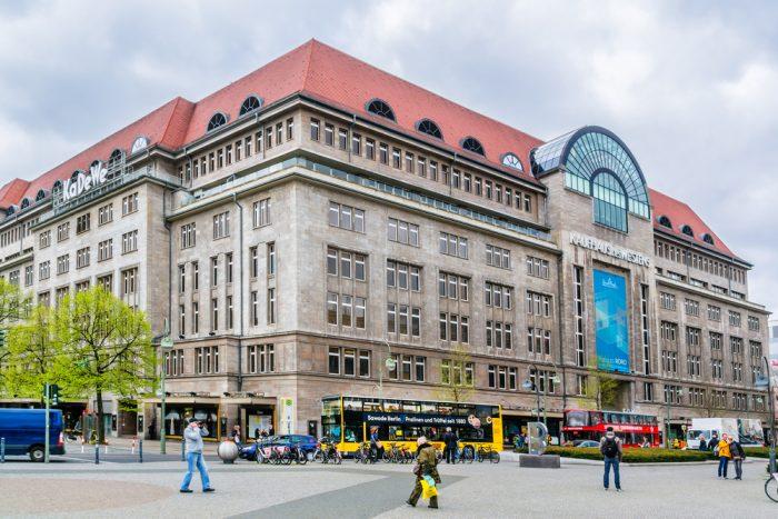 торговый центр KaDeWe Берлине