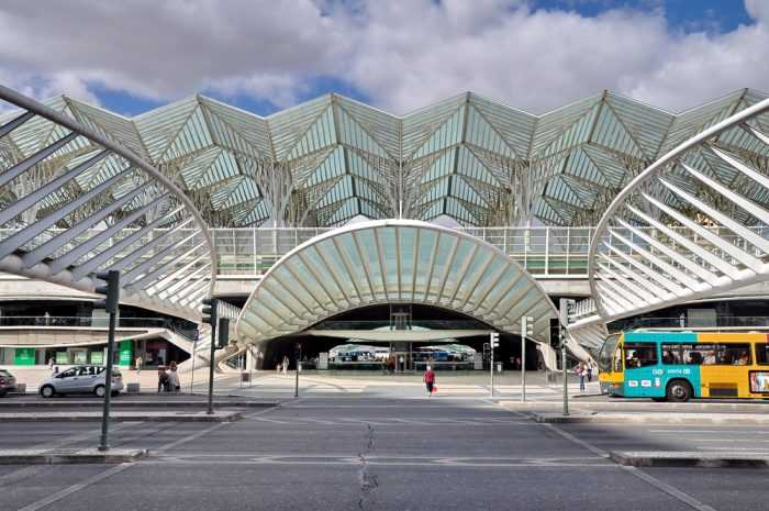 Железнодорожная станция Ориенте, Лиссабон