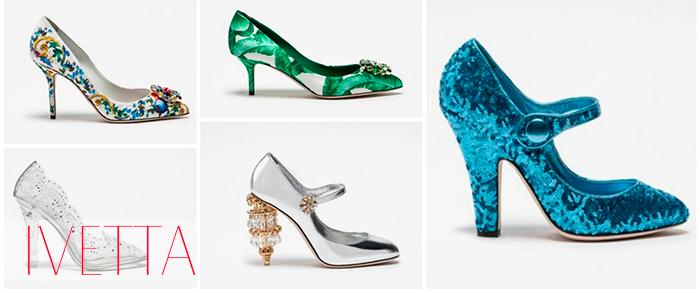 Женские необычного дизайна туфли