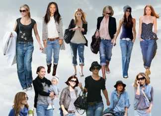 Знаменитости в джинсах- бойфрендах