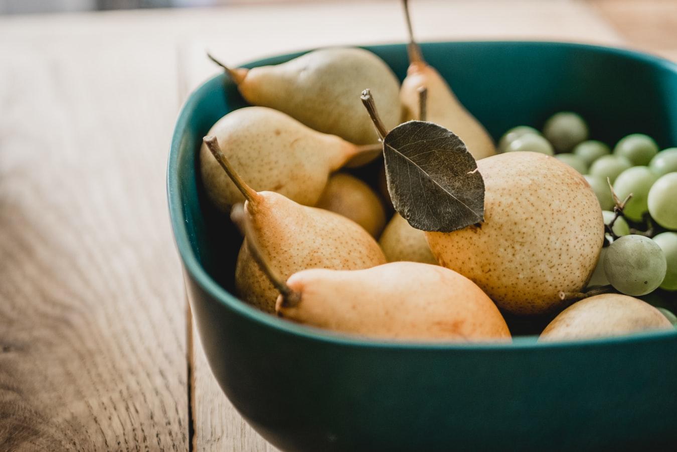 Осенний рацион для здорового питания 9 лучших продуктов - Груши