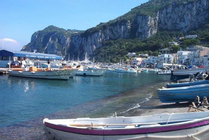 остров Капри в Италии