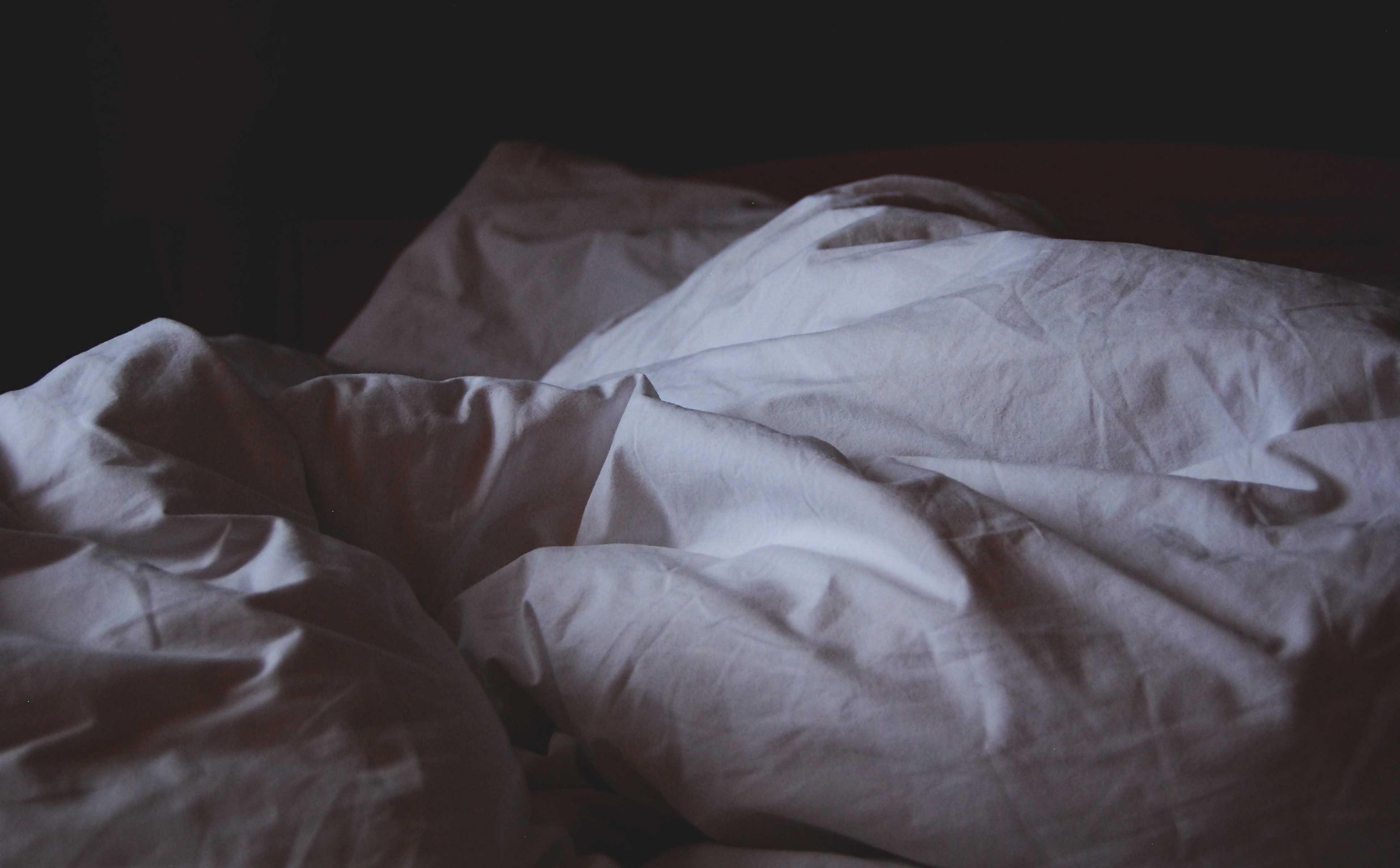 помятая постель