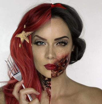 Визажисты, которые способны перевернуть твое представление о макияже на Хеллоуин