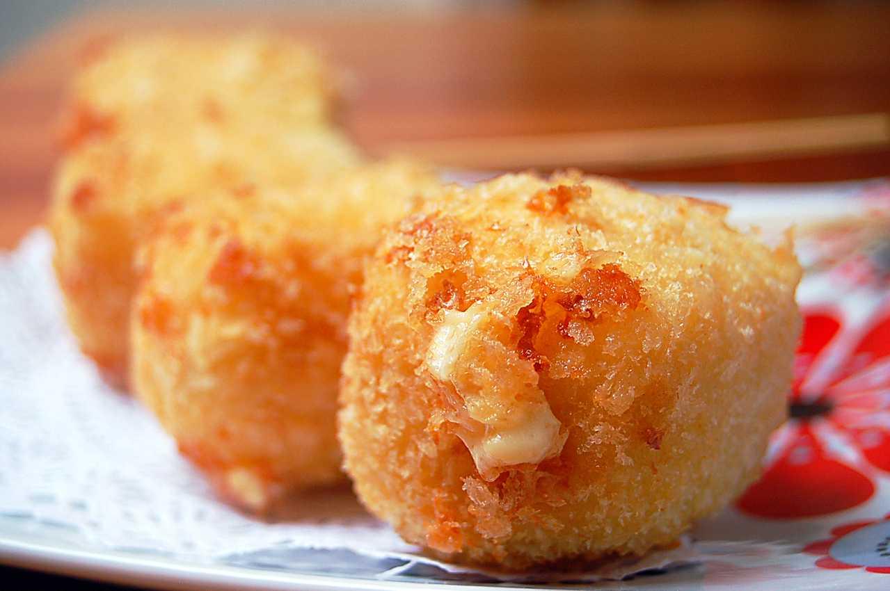 Жареный сыр Smaženka