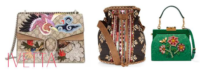 Женские сумки с орнаментом