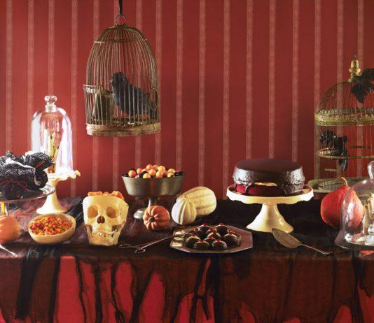 десерты на столе в Хэллоуин 2016