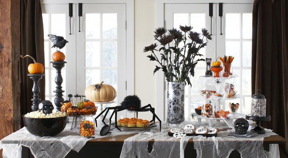 оформления стола для Хэллоуин 2016