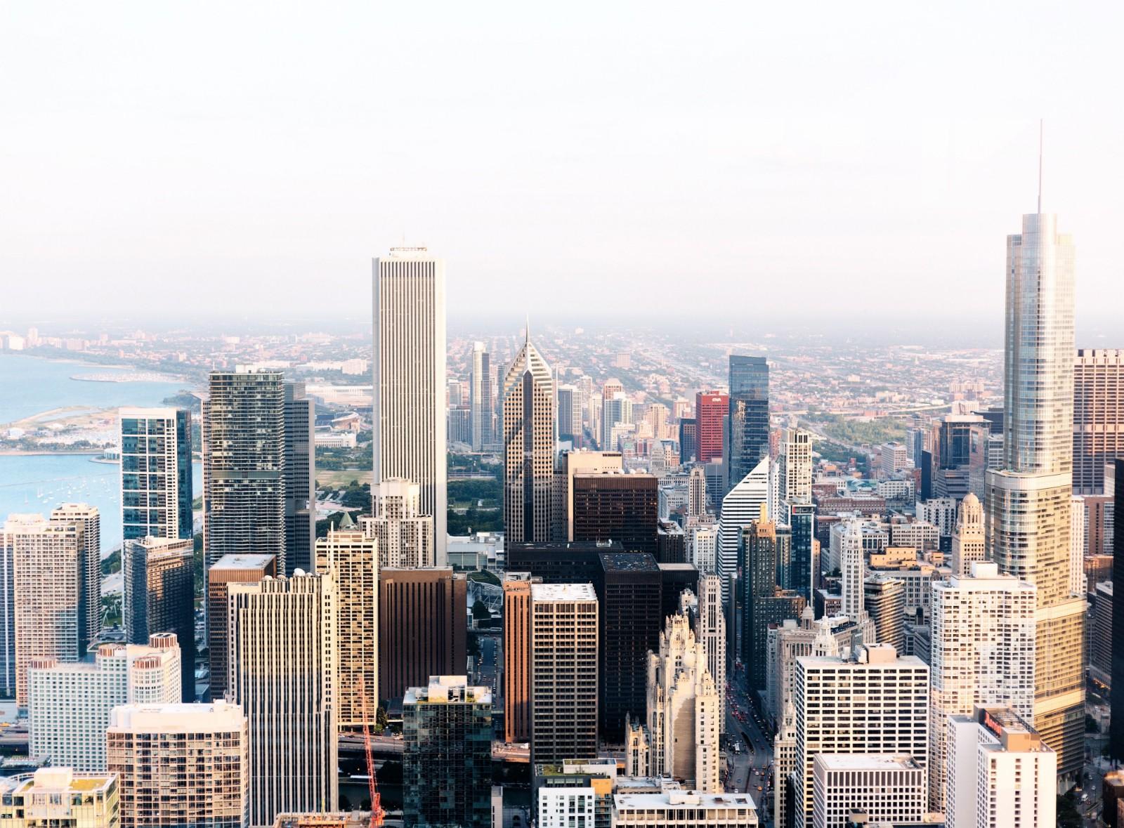 небоскребы в Америке