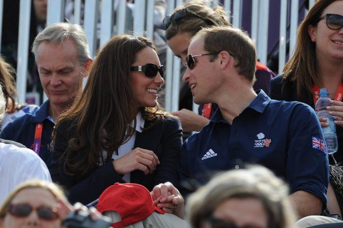 Кейт Миддлтон и принц Уильям в очках