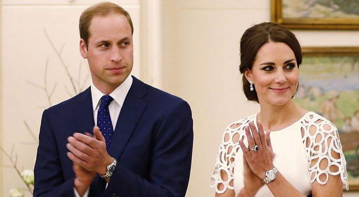принц Уильям и Кейт Миддлтон аплодируют