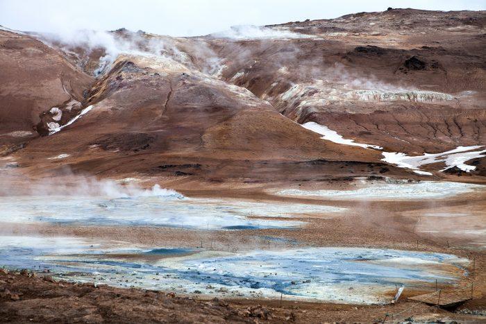 геотермальное поле Хверир