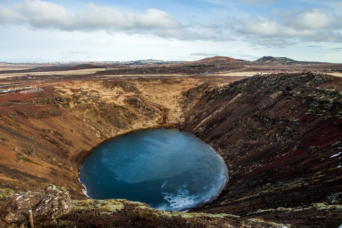 кратерное озеро Керид